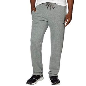 NWT Men's fleece sweat pants medium Gray